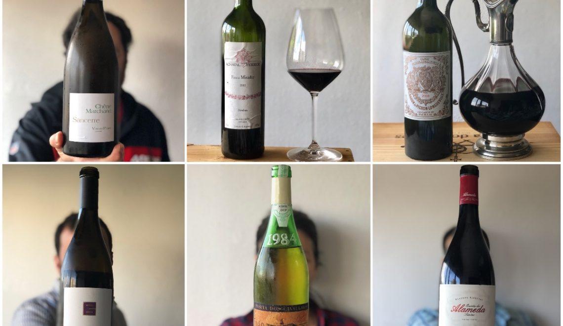 Os vinhos da quarentena. Vamos lá limpar a garrafeira!
